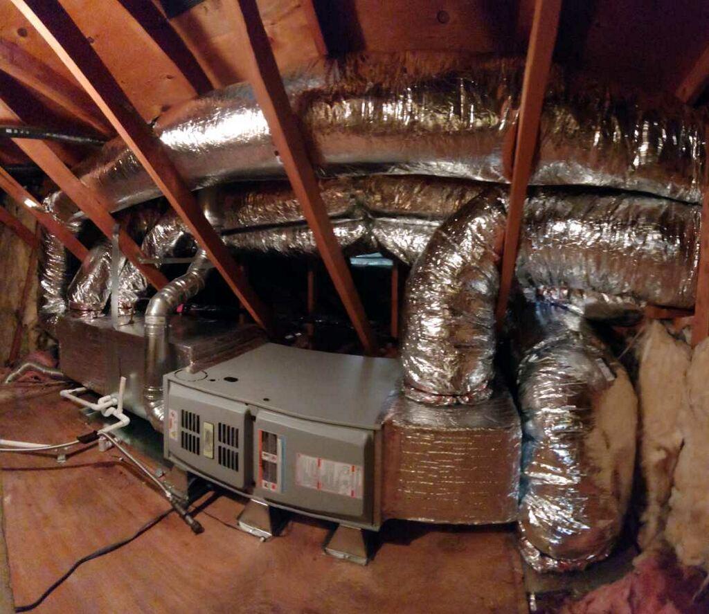 attic furnace
